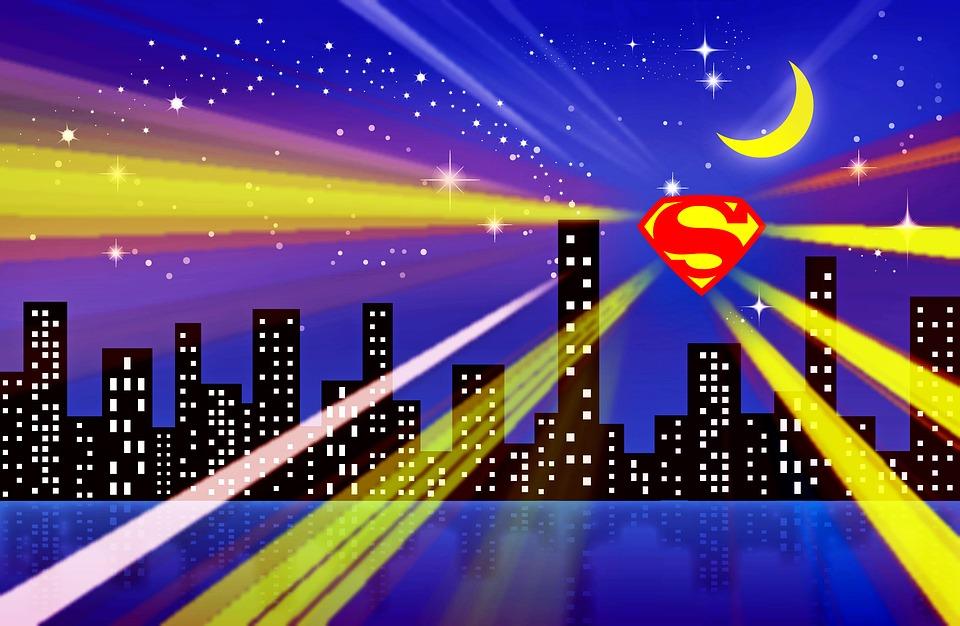 mesto, Superman znak
